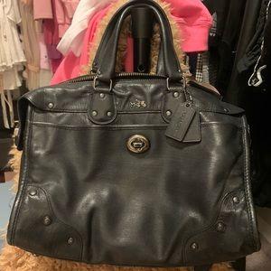 coach leather shoulder bag crossbody bag
